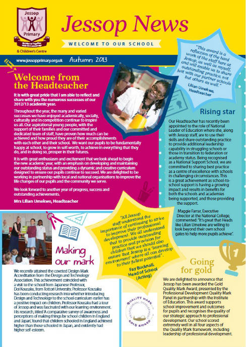 Jessop Newsletter Cover